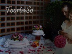 Mi primera torta de bodas <3