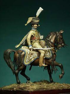 I Soldatini di Gaetano Ciotola: Comandante Champeaux ADC di Bernadotte -Francia 1806 - Collezione Gaetano Ciotola