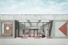 jagnefalt milton - Entry for the Bauhaus Museum in Dessau