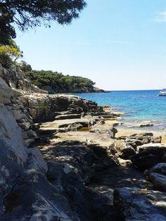Srebrna Beach, Vis Island, Croatia #islandofvis #vis #visisland #croatia #adriaticsea