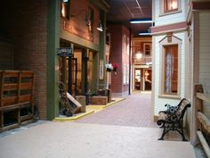 The Street of Shops at the McKinley Presidential Library & Museum