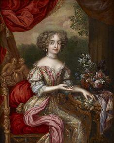 Portrait of a lady by Henri Gascar, c. 1675
