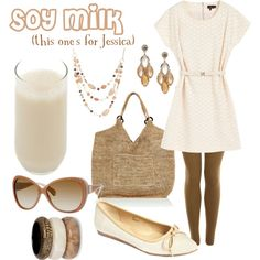 Soy Milk ~ for Jessica ~  (drink inspired fashion)