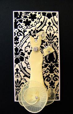 Chloe dress card from BSylvar on etsy
