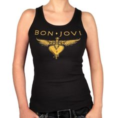 Bon Jovi Items | In commemorating Bon Jovi's body of work, here's a boy beater ...