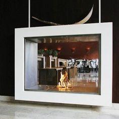 EcoSmart Fire Vision Freestanding Fireplace