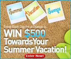 Win $500 for a Summer Vacation from FamilyTime.com!