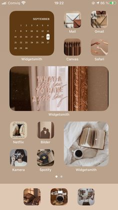 Iphone Home Screen Layout, Iphone App Layout, Iphone Design, Ios Design, Iphone Life Hacks, Cute App, Phone Themes, Ios Update, Ios Phone