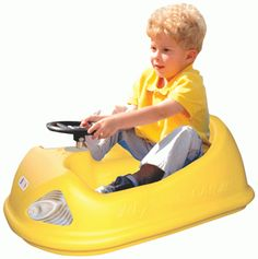 EZ Bump Car. Another awesome invention that uses kid power to propel them forward. Best used on flat smooth surfaces. $135.95 w/ free shipping. http://www.sensoryedge.com/ez-bump-car.html