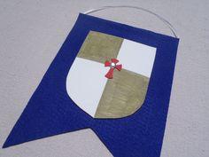 Party Crest Craft (Princess, Knight, Royal, Medieval) - Individual via Etsy