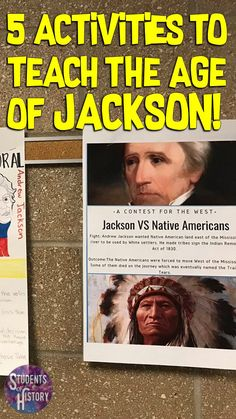 5 Ways to Teach About the Andrew Jackson Presidency