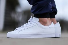 Now that spring is back in all its warm glory, adidas is beginning roll out clean white colorways of all their most popular silhouettes. Though the Stan Smith has been grabbing a lot of attention lately, the Three Stripes brings back a true classic with the adidas …