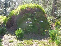 Mud and Grass Sculpture