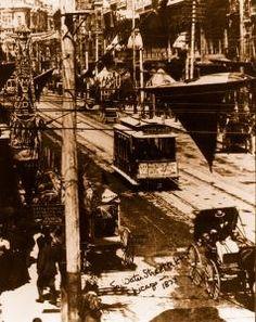 Downtown Los Angeles 1902 Vintage Photograph