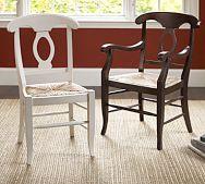 Napoleon 174 Rush Seat Chair Pottery Barn Home Sweet Home
