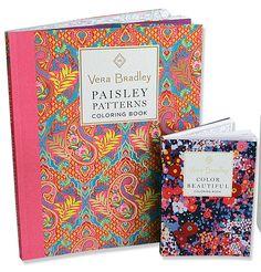Vera Bradley Paisley Patterns Coloring Book 85 X 11