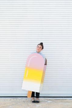 A Budget-Friendly DIY Popsicle Costume for Halloween » Curbly | DIY Design Community