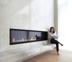 6FT FIRE NEW GENERATION: Also new is a remote control that turns the system on and off, adjusts flame height to six different settings, and controls the output of heated air output into the surrounding room.
