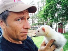 Mike Rowe: Curiosity Is Key to Success Mike Rowe, Cute Ferrets, Like Mike, Love To Meet, Funny Love, Curiosity, Fur Babies, Pup, Funny Pictures