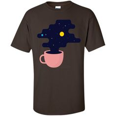 Amazing Space Coffee T-Shirt T-Shirt