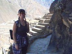 Becky in Peru...