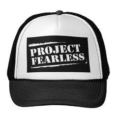 Project Fearless BLACK Trucker
