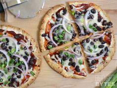 BBQ Black Bean Pizzas - Budget Bytes