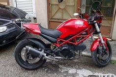 Details    Ducati Monster 695 cc year 2006 About 25000km All black Perfect state Circle view mirror form USA Very new tyres Kept in garage under protection