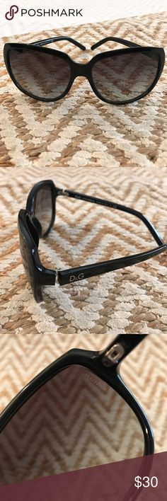 702b2f52e7a Women s Black D G Sunglasses Black Women s D G sunglasses in used condition  (scratches on lens). Plastic frames. Made in Italy.🔹Prices are firm.