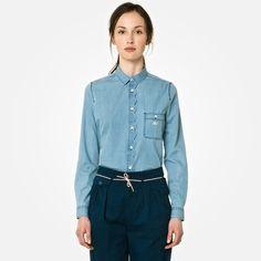 Lacoste Live denim shirt