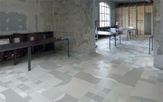 Love this floor pattern!... Cersaie in Bologna die Kollektion FRAME-UP mit vier neuen Dekoren vor