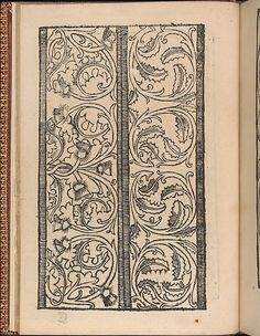 Published by Hermann Gülfferich, 1542-1554, Frankfurt am Main, bound by Riviere & Son(s), London.<br/>Illustrated title page (copy of Beham-Pauli 1222), 76 pages of designs, and printer's mark on last page