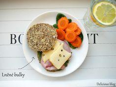 Delicious blog: Pečení bez mouky...lněné bulky