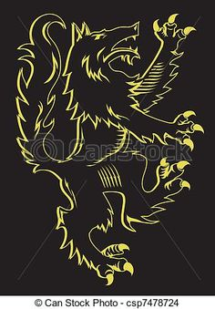 Medieval Wolf
