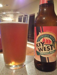 Key West Sunset Ale, Florida Beer Company, Key West FL...light an crisp!