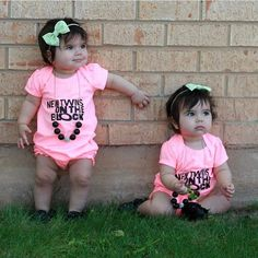 Happy 1st birthday to these gorgeous baby girls, and reps of Otwins!!
