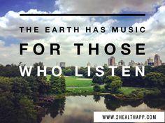 The Earth has music for those who listen.  #nature #mothernature #earth #park #centralpark #nyc #meditation #yoga #peace #health #wellness #greenlife #beautifuldestinations #beautifulview #greenpower #travel #traveltheworld #travelgram #travellife