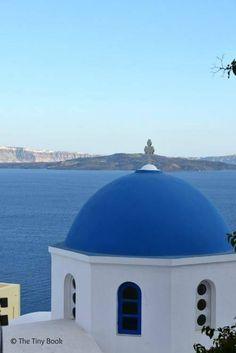 Blue Dome, Oia. Santorini dreamy photo destination