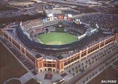 The Ballpark in Arlington...Rangers Baseball...Arlington, TX