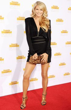 Christie Brinkley at the Sports Illustrated event January 2014.  She looks unbelievable!