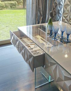 Salone del Mobile, iSaloni – 2013: новая кухня Diamond от Bizzotto.
