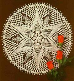 crochet-napkin ...<3 Deniz <3
