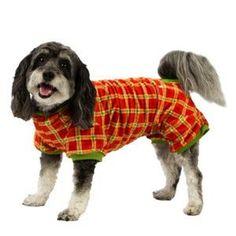 Amazon.com : Disney Ears Plaid Dog Pajamas : Pet Supplies