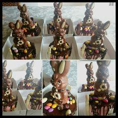 Easter bunnycakes by TaartateliervanRoos