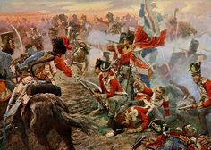 FRENCH CAVALRY CHARGE SQUARES
