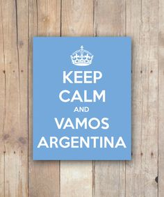 Hey, I found this really awesome Etsy listing at https://www.etsy.com/listing/190012601/print-it-yourself-keep-calm-and-vamos