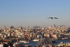 Büyük Valide Han veya Kuşbakışı İstanbul | Uçak Notları