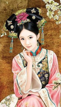 paintings of oriental women - Google Search