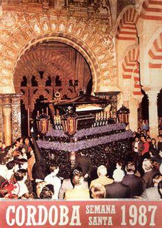 Carteles cofrades, Semana Santa 1987, Cordoba, Spain, #tourism #C�rdoba, http://tripcaddy.es/en/turismo/listado-turismo?zona=el-guadalquivir