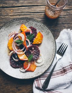 Home Feed | Blood Orange & Beet Salad | Eva Kolenko Photography